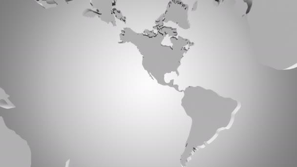 Rotating of Globe. A look inside