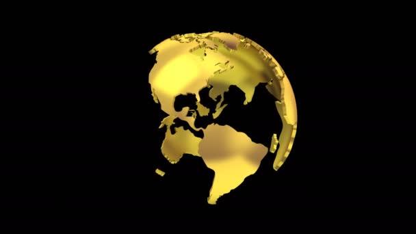 Létrehozása egy forgó földgömb