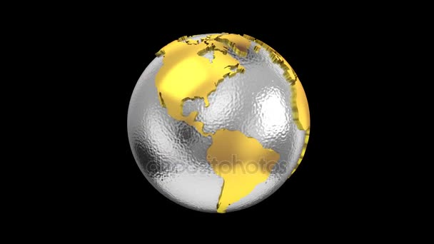 World map turns into a globe stock video dragun 161453006 world map turns into a globe stock video gumiabroncs Choice Image