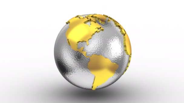 World map turns into a globe stock video dragun 161454318 world map turns into a globe stock video gumiabroncs Choice Image
