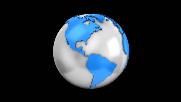 Schaffung eines rotierenden Globus