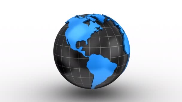 World map turns into a globe stock video dragun 167754486 world map turns into a globe stock video gumiabroncs Choice Image