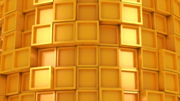 Hintergrund aus Quadraten. abstrakter Hintergrund, 2 in 1, Loop, erstellt in 4k, 3D-Animation