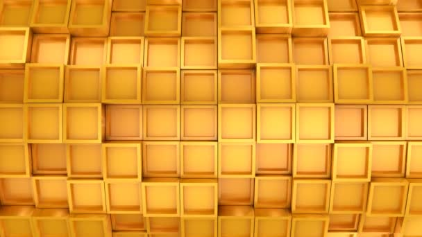 Background From Squares. Abstract background, 2 in 1, loop, created in 4K, 3d animation