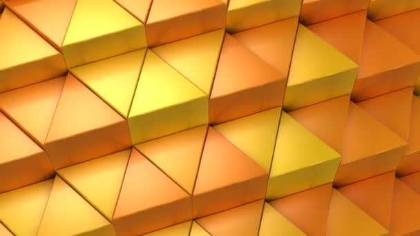 Triangles Formed Wave Abstract Background Loop 301 600 Frames