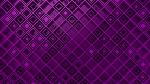 Hintergrund der Rauten. abstrakter Hintergrund, 2 in 1, Loop, 3D-Rendering, 4k-Auflösung