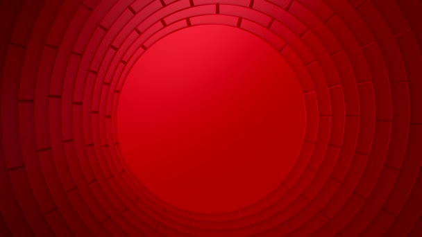 Background of Circles. Background for text or logo, loop, 3d rendering, 4k resolution