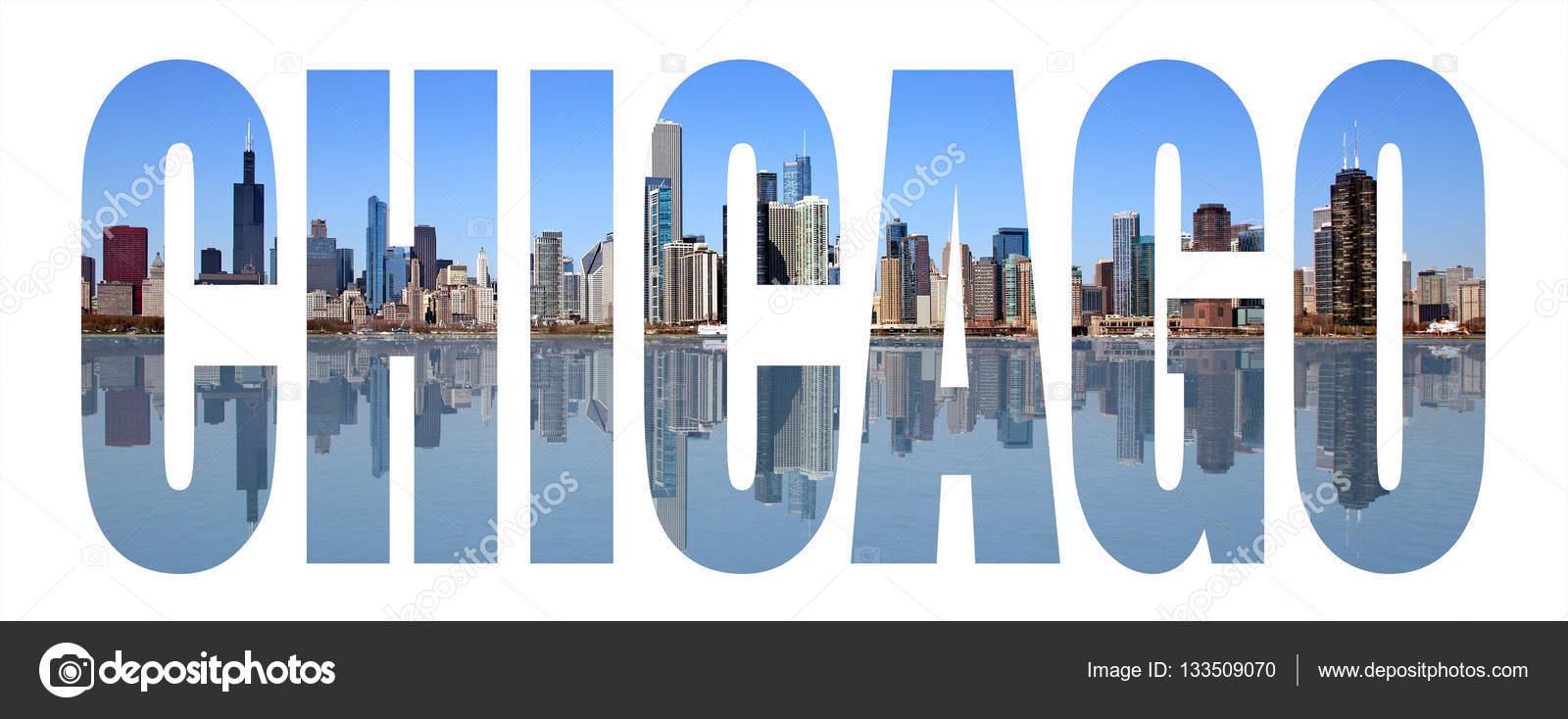 chicago sehensw rdigkeiten buchstaben stockfoto gdvcom. Black Bedroom Furniture Sets. Home Design Ideas