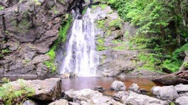 Khlong Lan waterfall in national park, Kamphaeng Phet Thailand.