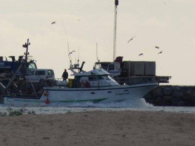 Fishing boats in Isla Cristina Huelva province Andalusia Spain