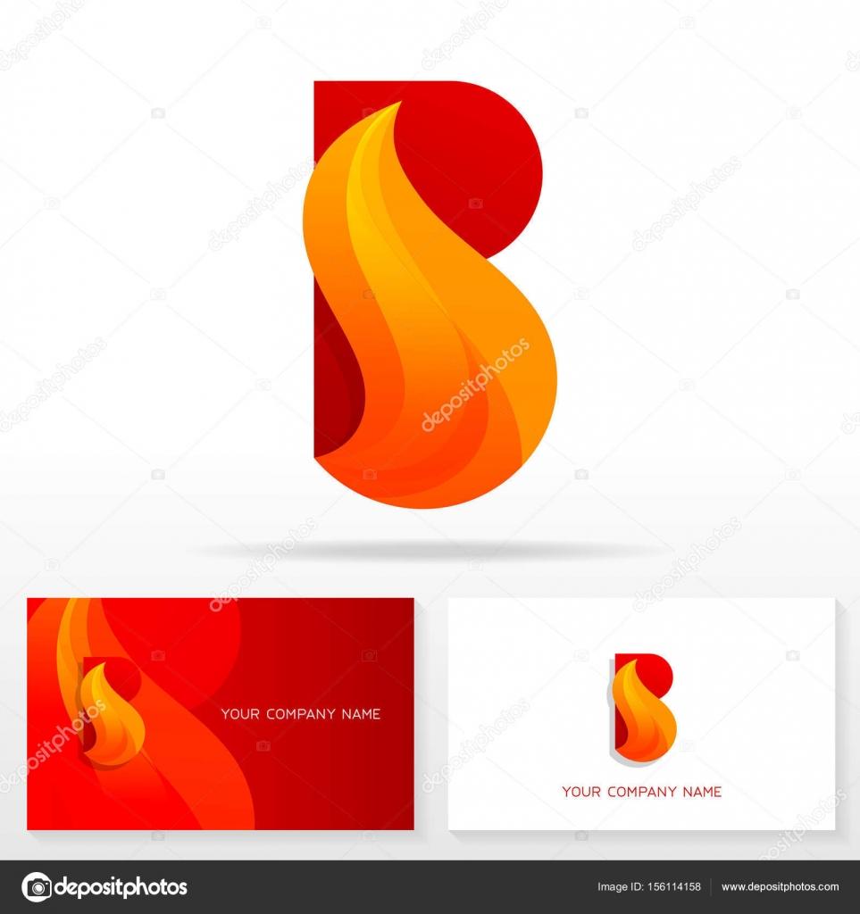 Elementos de plantilla de diseño de letra B logo icono — Archivo ...