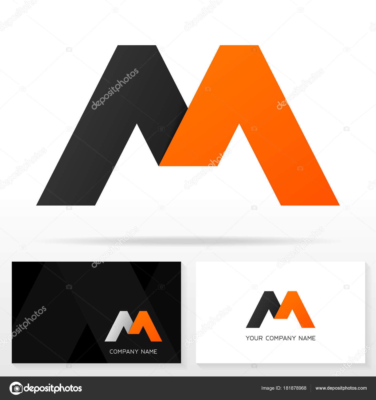 Plantilla Diseño Letra Logo Icono Plantillas Tarjeta Visita ...