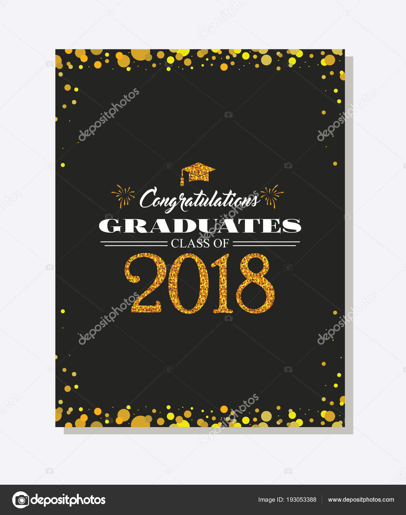 Graduation party vector template invitation to the traditional graduation party vector template invitation to the traditional ceremony college university or high school filmwisefo