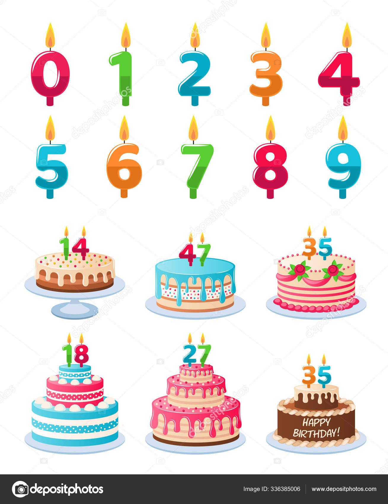 Groovy Cakes With Candle Numbers Anniversary Birthday Cake With Candles Birthday Cards Printable Benkemecafe Filternl