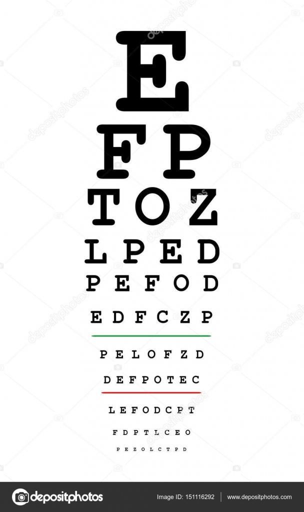 Eyes test chart stock vector vabadov 151116292 eyes test chart stock vector geenschuldenfo Image collections