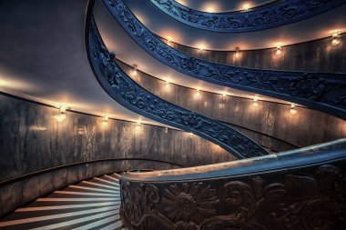 Staircaise in Vatican, Rome