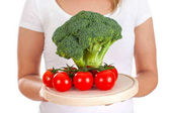 čerstvá zelenina k večeři