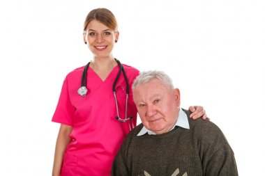 Elderly man care