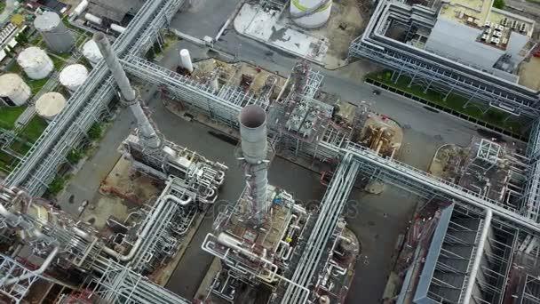 4k petrochemische Anlage tagsüber