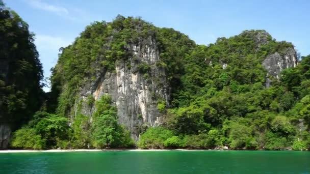 Long tail boat at Koh Hong Island, Thailand
