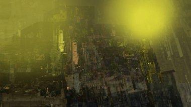 """Картина, постер, плакат, фотообои """"абстрактное современное искусство, текстура структуры, геометрическая иллюстрация городского пейзажа картина постеры все"""", артикул 327641234"""