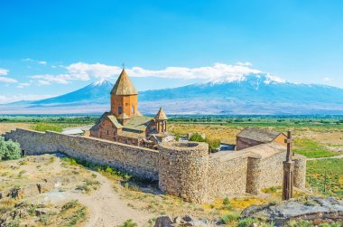 The Monastery at the Ararat Mount