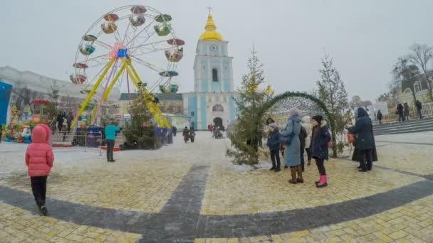 The Christmas festival
