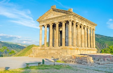 The ancient Greek architecture in Armenia