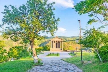 The way to Garni Temple