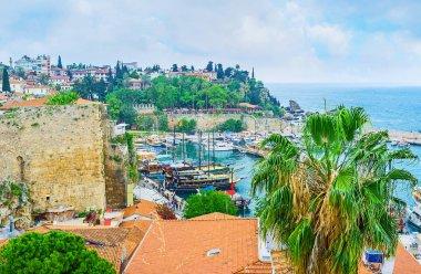 The tourist port of Antalya