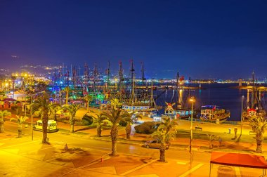 The old port of Alanya