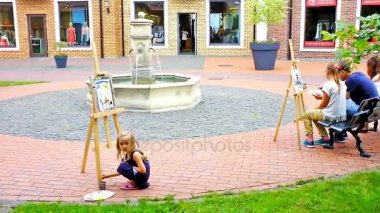 The street painter