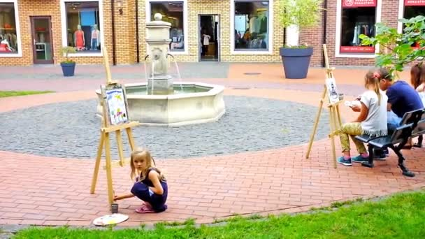 The street painter