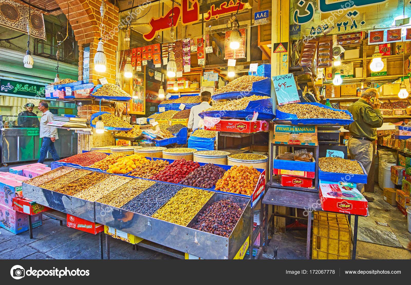 Disfrutar de la cocina oriental en gran bazar de teher n for Bazar de cocina