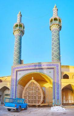 Minarets of Shahzade Fazel Shrine