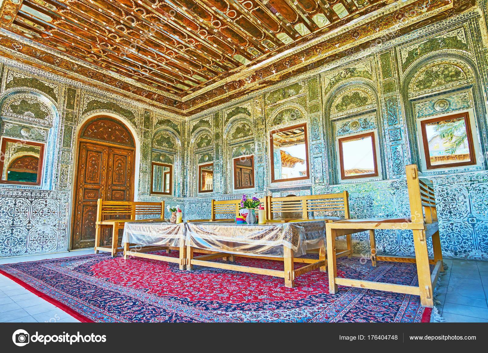 La Terraza De Verano De Mansión Tradicional Persa Shiraz