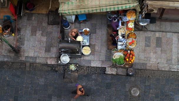 Outdoorküche Klein Cafe : Kairo Ägypten dezember 2017 luftaufnahme von der outdoor küche des