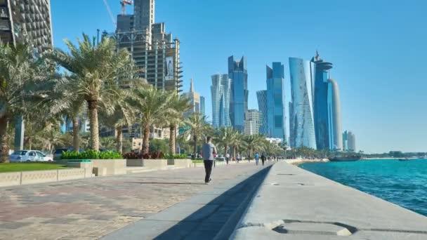 Resultado de imagen de Paseo maritimo de Doha, Qatar