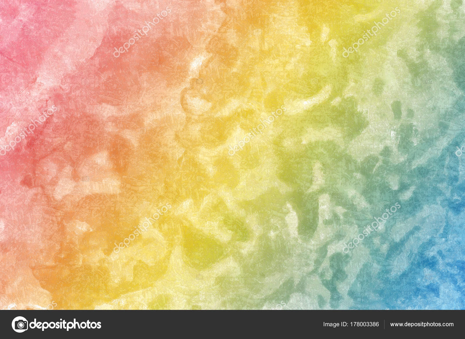 Multi-colored textural wall, pink with yellow and blue — Stock Photo ...