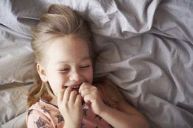 Funny moments in the bed