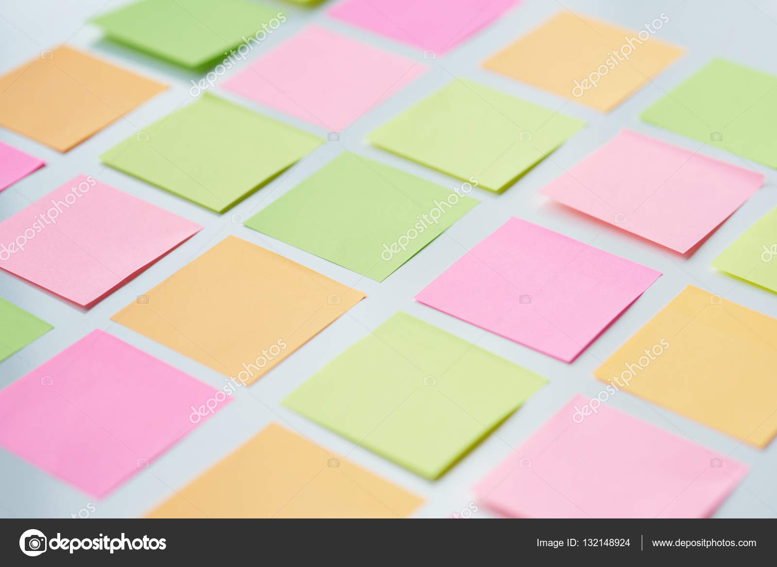 sticky notes in square shape stock photo gpointstudio 132148924