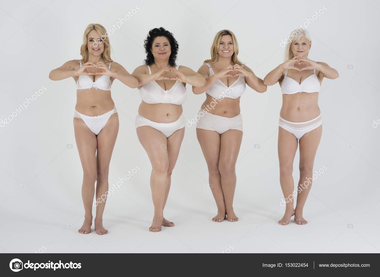 mature women in classic lingerie — stock photo © gpointstudio #153022454