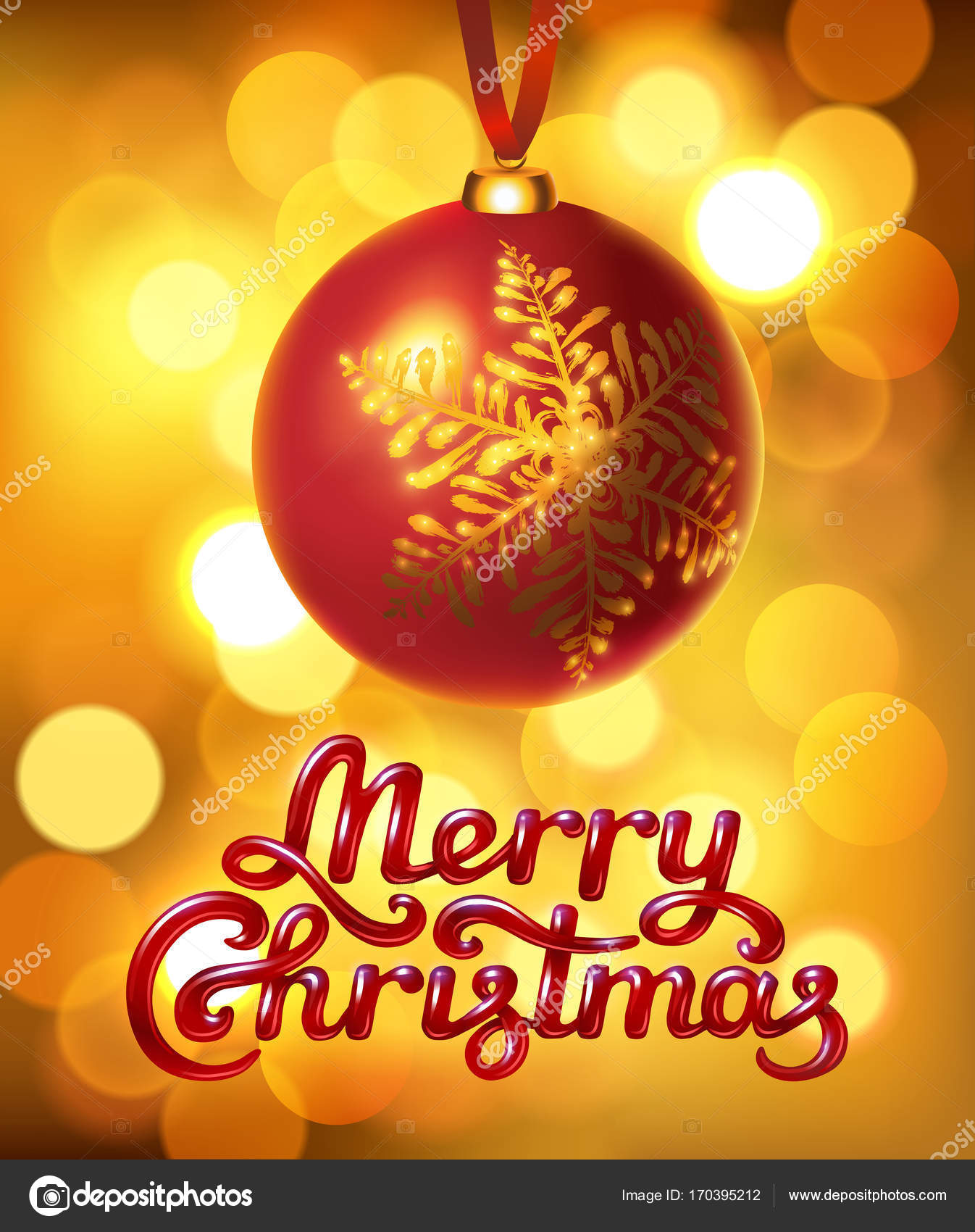 Schriftzug Frohe Weihnachten Beleuchtet.Frohe Weihnachten Hand Schriftzug Stockvektor