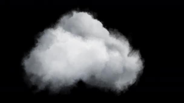 4k izolált felhő átlátszó háttérrel, kompozícióra kész