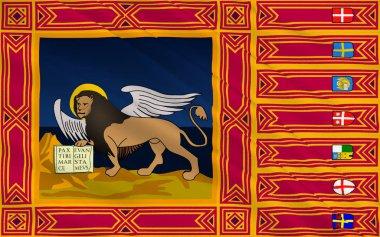 Flag of Veneto, Italy