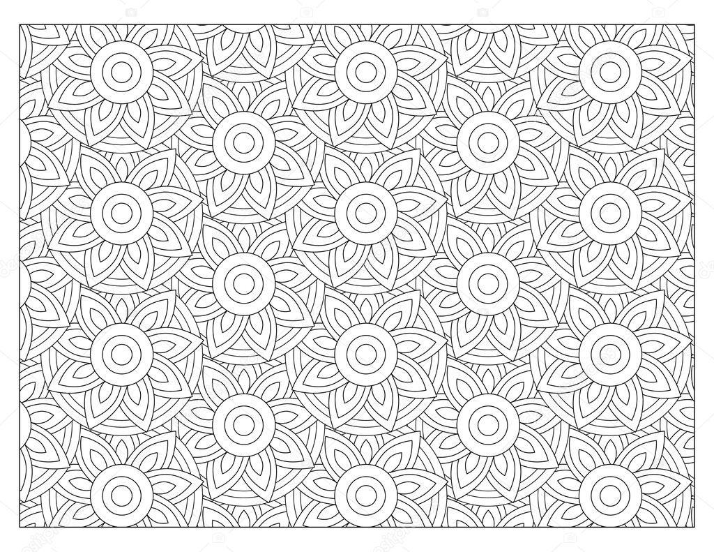 Malvorlagen Muster — Stockfoto © smk0473 #128345412
