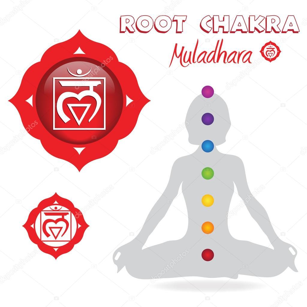 Root Chakra Poster — Stock Photo © smk0473 #128588002
