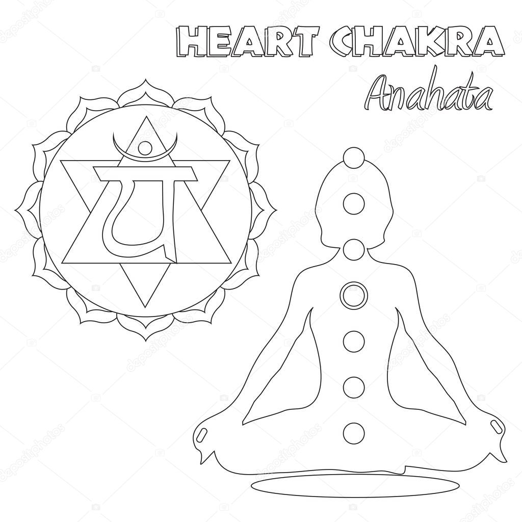 chakra symbols coloring pages - photo#4