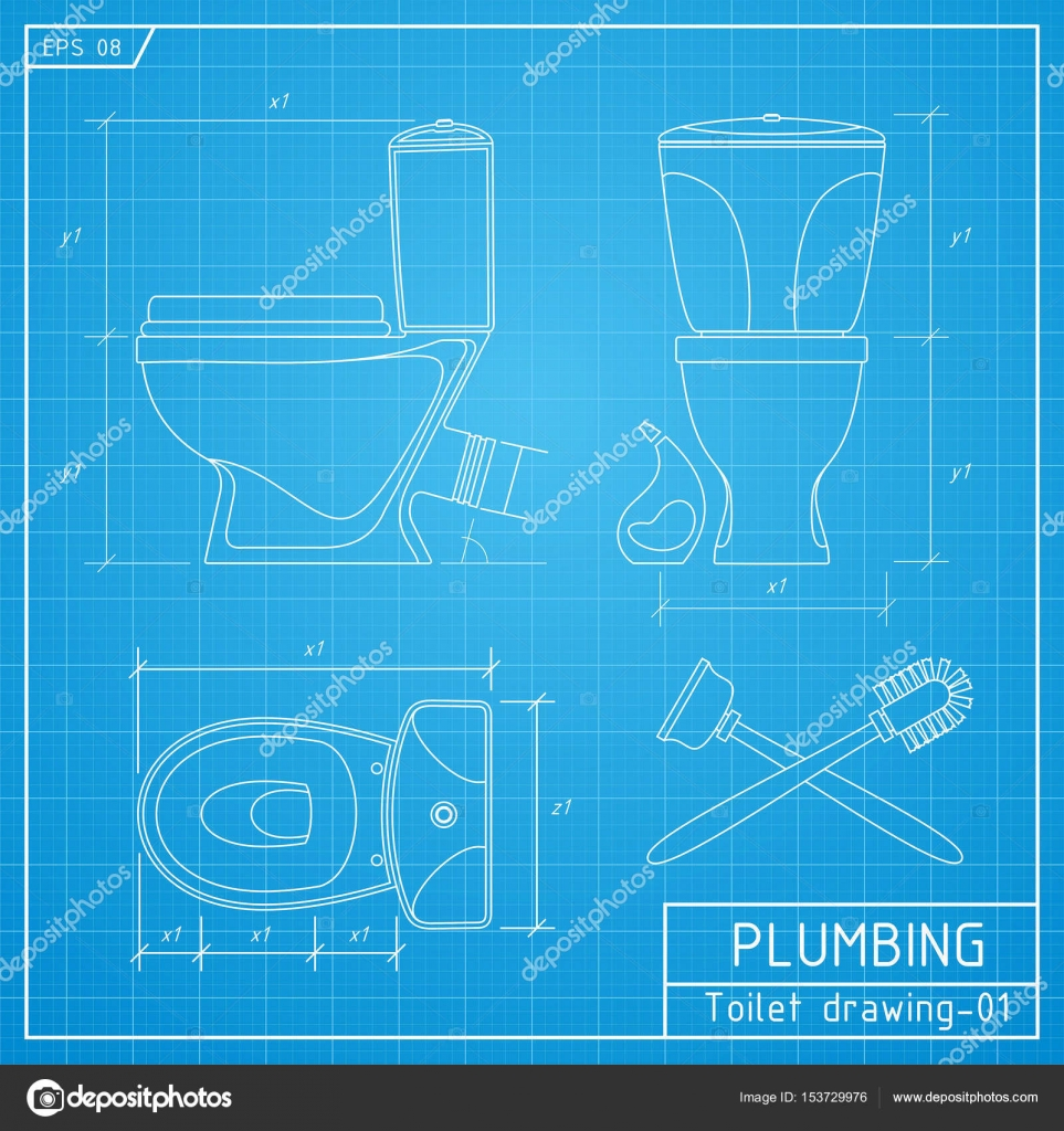 90+ Toilet Bowl Drawing Top View - Toilet Bowl Drawing ...