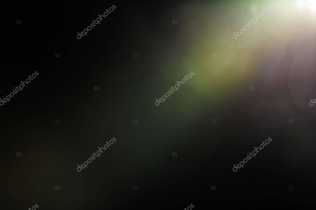 Real Lens Flare background